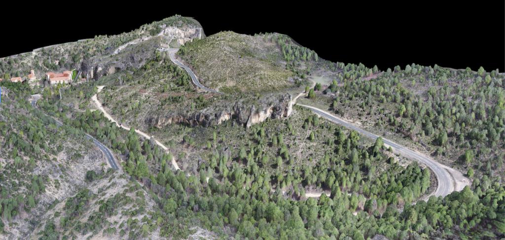 Modelado 3D de superficies con Drones Aeromontes