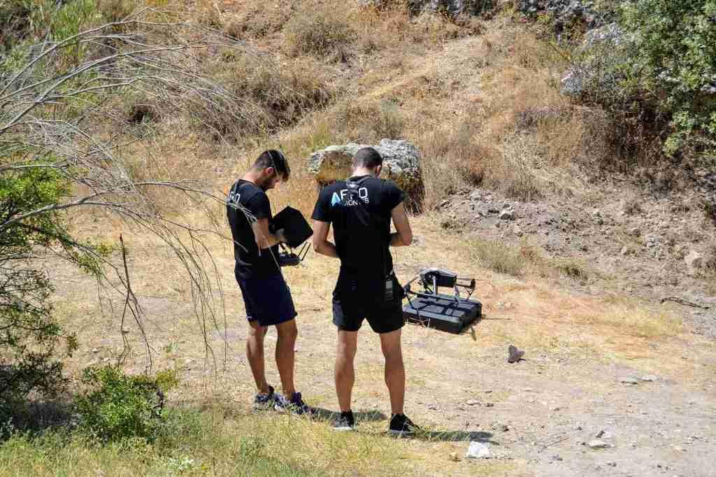 Piloto de drones en españa