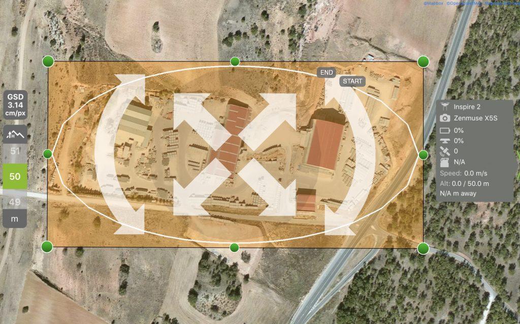 control de instalaciones con aeromontes