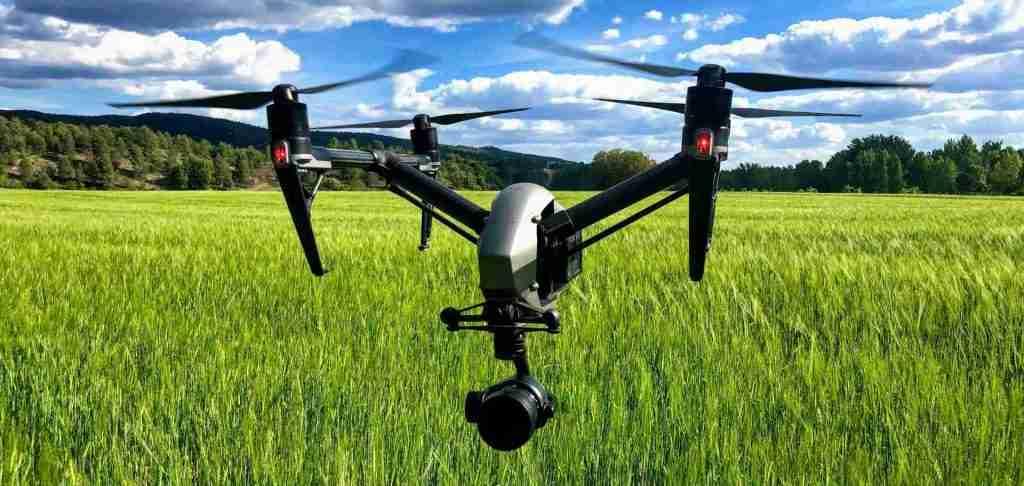 drone de cine profesional - inspire 2