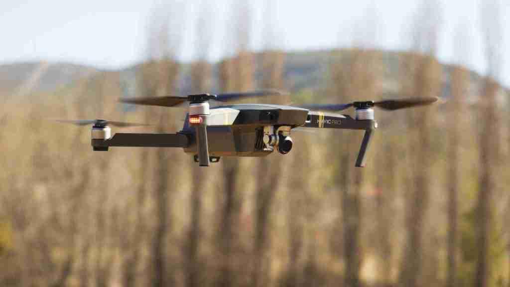 drone mavic dji aeromontes