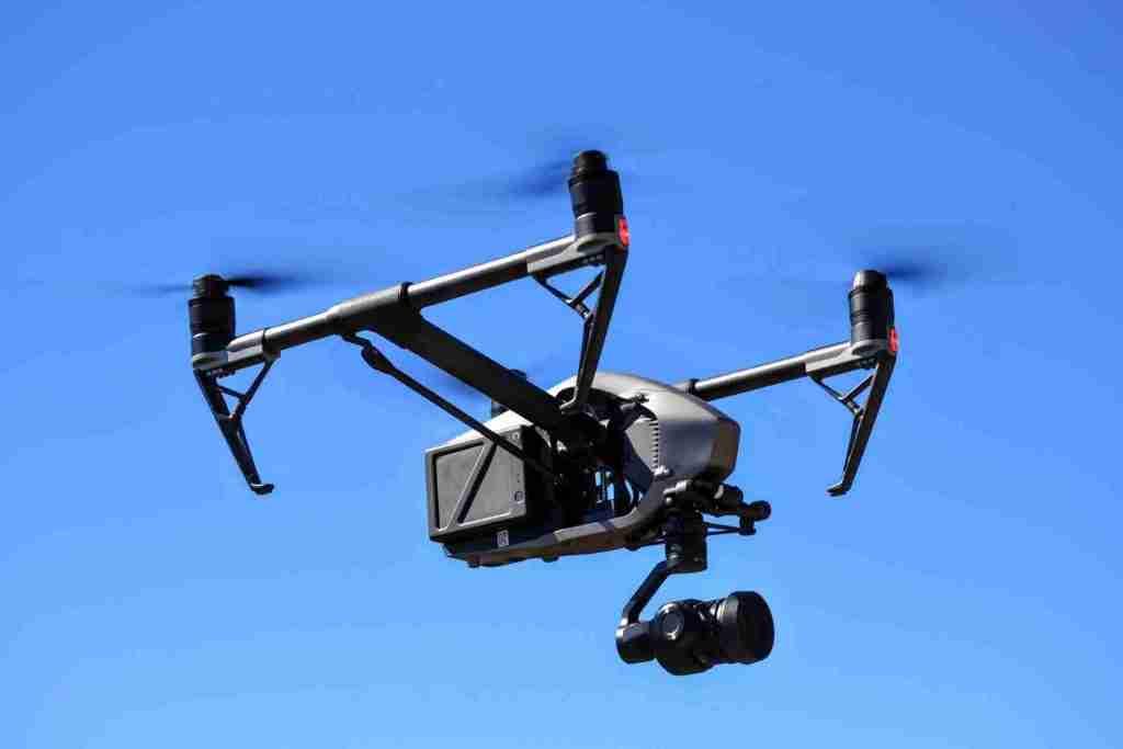 grabación con drone y camara 5k