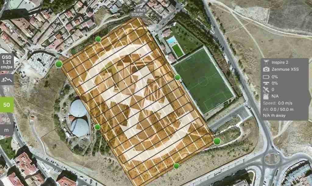 mapeo 3d con drones - aeromontes